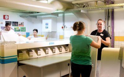 Entscheidende Vorteile für das Textilmanagement in der hauseigenen Wäscherei