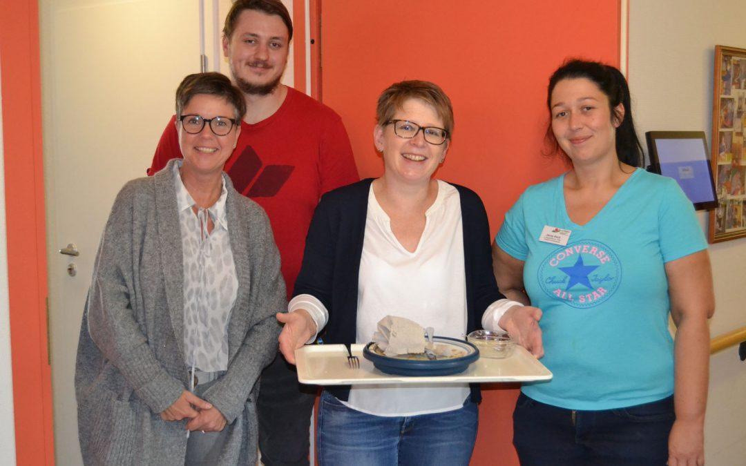 Pflegepraktikum Frau Dr. Tanja Machalet im Altenheim des Hospitalfonds
