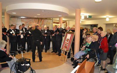 Musik bewegt Seele am Tag der Begegnung im Alten- und Pflegeheim Hospitalfonds