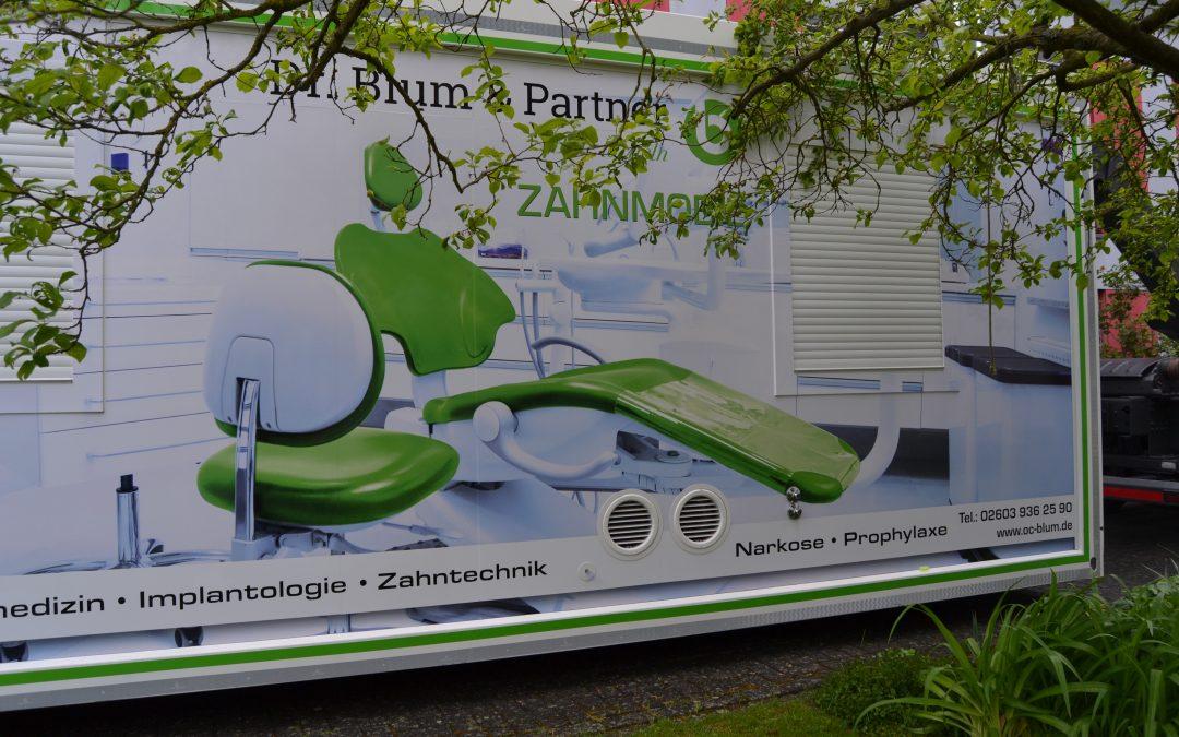 Zahnmobil besuchte unser Altenheim