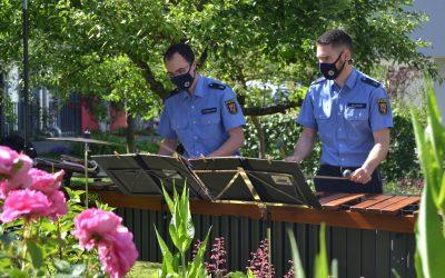 Landespolizeiorchester im Altenheim