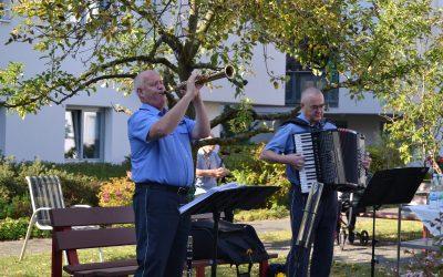 Landespolizeiorchester zum 2. Mal im Altenheim