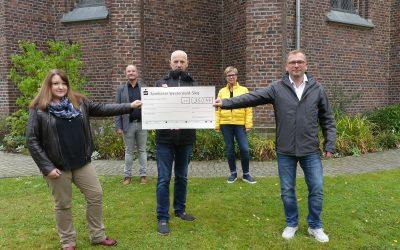 Spende von der evangelischen Kirche Montabaur