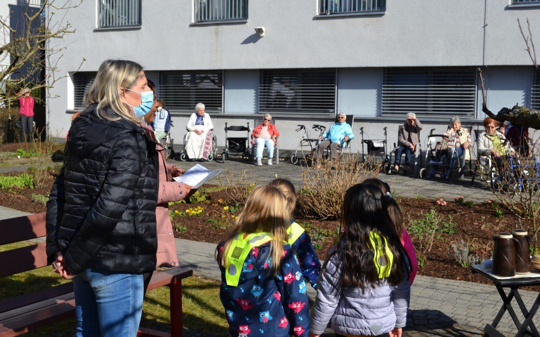 """Osterbesuch von den Kindern des Kindergartens """"Don Bosco"""""""