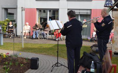 Besuch vom Landespolizeiorchester Rheinland-Pfalz